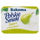 BAKOMA Polskie Smaki Jogurt o smaku gruszkowym 120g