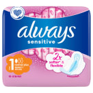 ALWAYS Ultra Sensitive Normal Plus Podpaski 10szt 1 szt