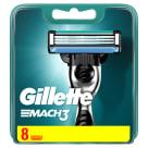 GILLETTE Mach3 Maszynka do golenia - wkład 8 szt. 1szt