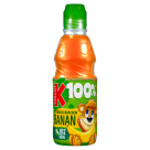 KUBUŚ 100% Banan marchew jabłko Sok 300 ml
