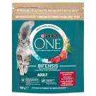 PURINA ONE Adult Karma dla dorosłych kotów bogata w wołowinę i pełne ziarna 800g