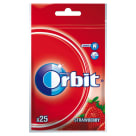 ORBIT Wild Strawberry Guma do żucia w torebce 25 drażetek 35 g