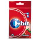 ORBIT Wild Strawberry Guma do żucia w torebce 25 drażetek 35g