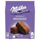 MILKA Choco Brownie Ciastka z czekoladą i kawałkami czekolady mlecznej 6 szt. 150g