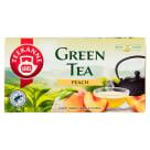TEEKANNE Green Tea Herbata zielona Peach 20 torebek 35g