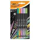 BIC Intensity Fine Cienkopisy mix Pastel Blister 6szt. 1 szt