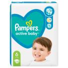 PAMPERS Active Baby Pieluchy Rozmiar 6 (13-18kg) 44 szt 1szt