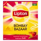 LIPTON BOMBAY BAZAAR Herbata czarna aromatyzowana 100 torebek 180g