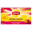 LIPTON BOMBAY BAZAAR Herbata czarna aromatyzowana 50 torebek 90g
