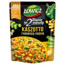 ŁOWICZ Kaszotto z kukurydzą i fasolą szparagową 250g