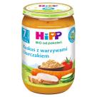 HIPP Kuskus z warzywami i kurczakiem po 7 miesiącu BIO 220g