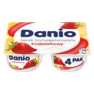 "DANONE DANIO Serek homogenizowany ""Multipack"" 4x140g Truskawka 560g"