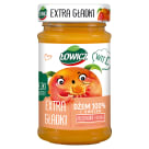 ŁOWICZ Dżem 100% z owoców extra gładki brzoskwinia 235g