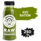URBAN MONKEY Raw Smoothie Napój niepasteryzowany, tłoczony na zimno Avo Nation 250ml