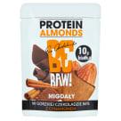 BE RAW! Migdały w gorzkiej czekoladzie 86% z cynamonem i białkiem 45g