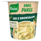 KNORR DANIE Puree ziemniaczne z serem i brokułami 50g