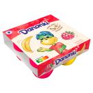 DANONE Danonki MEGA Serek o smaku malinowo-bananowy 4x90g 360g