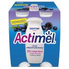 DANONE Actimel Napój mleczny jagoda i jezyna 4x100ml 400g