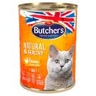 BUTCHER'S Natural & Healthy Krama dla kotów z kurczakiem w galarecie 400g
