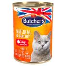 BUTCHER'S Natural & Healthy Karma dla kota z wołowina w galarecie 400g