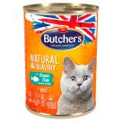 BUTCHER'S Natural & Healthy Karma dla kota z rybą w galarecie 400g
