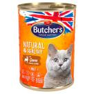 BUTCHER'S Natural & Healthy Karma dla kota z dziczyzną w galarecie 400g