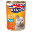 BUTCHER'S Natural & Healthy Karma dla kota ze pstrągiem w galarecie 400g