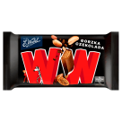WEDEL WW Wafelek w gorzkiej czekoladzie z nadzieniem orzechowym 47ml