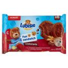 LU Petitki Lubisie FUN SANDWICH Czekoladowe ciastka z nadzieniem kakaowym 180g