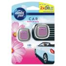 AMBI PUR CAR Samochodowy odświeżacz powietrza Flowers & Spring 2 szt. 1szt