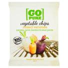 GO PURE Chipsy warzywne mix bezglutenowe BIO 40g