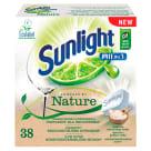 SUNLIGHT EKO tabletki do zmywarki Powered by Nature 38 szt. 760g