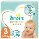 PAMPERS Premium Care Pieluchy Rozmiar 3 Midi (6-10kg) 60 szt 1szt