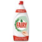 FAIRY Sensitive Płyn do mycia naczyń o zapachu mięty i drzewa herbacianego 900ml