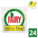 FAIRY All in One Kapsułki do zmywarek Lemon 24 szt 1szt