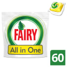 FAIRY All in One Kapsułki do zmywarek Lemon 60 szt 1 szt