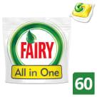 FAIRY All in One Kapsułki do zmywarek Lemon 60 szt 1szt