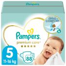 PAMPERS Premium Care Pieluchy Rozmiar 5 Junior (11-18kg) 88szt 1szt