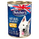 BUTCHER'S Natural & Healthy Karma dla psa z kurczakiem i ryżem pasztet 390g