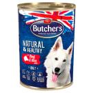 BUTCHER'S Natural & Healthy Karma dla psa z wołowiną i ryżem pasztet 390g