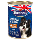 BUTCHER'S Natural & Healthy Karma dla psa z dziczyzną i wołowiną kawałki w sosie 400g