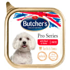 BUTCHER'S PRO SERIES Karma dla psów dorosłych pasztet z wołowiną i dziczyzną 150g