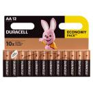 DURACELL AA/LR6 Baterie Alkaliczne12 szt. 1szt