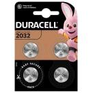 DURACELL 2032 Bateria Litowa 4 szt. 1szt