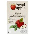 ROYAL APPLE Sok jabłko - mięta w kartonie tłoczony 3l