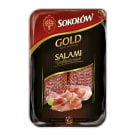 SOKOŁÓW Gold Salami delikatesowe - plastry 100g