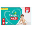 PAMPERS Pants Pieluchomajtki Rozmiar 4+ ( 9-15kg) 99 szt 1szt