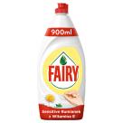 FAIRY Płyn do mycia naczyń rumiankowy z witaminą E 900ml