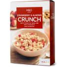 MARKS & SPENCER Crunchy owsiane z migdałami i truskawkami 500g