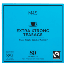 MARKS & SPENCER Bardzo mocna, czarna herbata, 80 torebek 250g